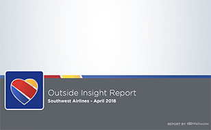 Outside Insight Report US Airlines
