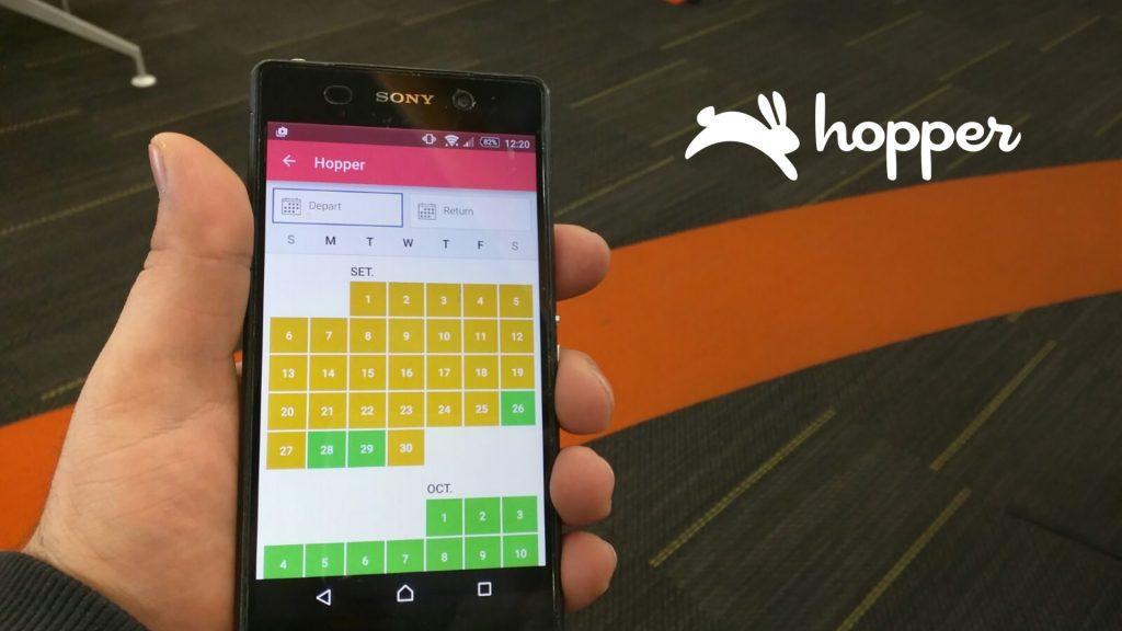 Outside Insight Hopper AI flights booking app