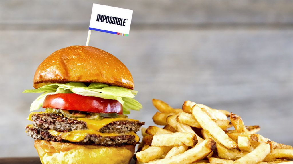 Impossible foods social media